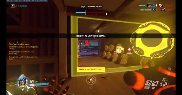Watch ples leave me alone GIF on Gfycat. Discover more GeForceGTX, Overwatch, ShotWithGeForce GIFs on Gfycat