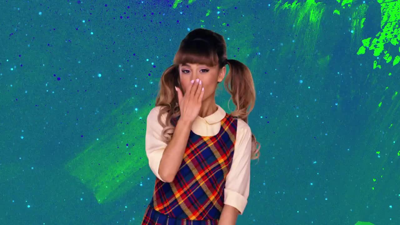 ariana grande, blow kiss, flirt, hairspray, penny pingleton, Ariana Grande Flirt GIFs