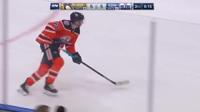 Watch Murray Save McDavid Breakaway GIF by The Pensblog (@pensblog) on Gfycat. Discover more McDavid, Murray, Oilers, Penguins, The Pensblog GIFs on Gfycat