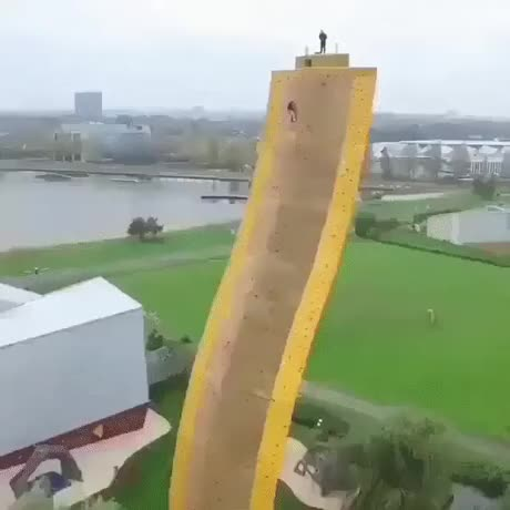 Watch and share Excalibur Rock Climbing Wall, Netherlands GIFs by hellsjuggernaut on Gfycat