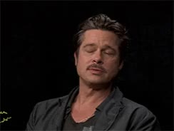 Watch [frustrated] celebs annoyed frustrated  GIF on Gfycat. Discover more Annoyed, between two ferns, brad pitt, brangelina, celebs, frustrated, funny or die, not amused, reactions, unamused, zach galifianakis GIFs on Gfycat