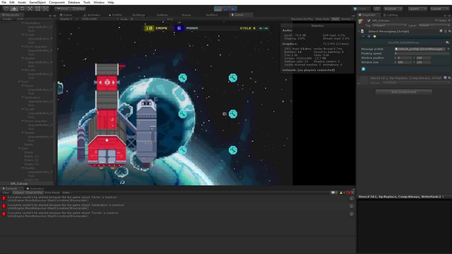 Unity 2018.1.5f1 Personal (64bit) - 2 GameScene.unity - Starfarmer - PC, Mac & Linux Standalone DX11  27 08 2018 19 44 39 GIFs