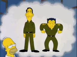 Watch and share Pyle?! Shazam! : TheSimpsons GIFs on Gfycat