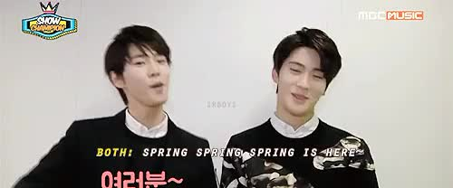 Watch Forever corny MCs Doyoung + Jaehyun (trans:) GIF on Gfycat. Discover more 150325, doyoung, g:sr15b, gif, jaehyun, mine, predebut, smrookies, sr15b GIFs on Gfycat