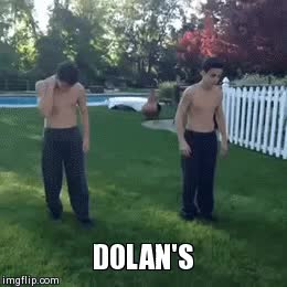 Watch and share THE DOLAN'S GRIND ON ME | Twins And Dolan GIFs on Gfycat