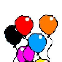 Watch and share Ballon Gif Photo:  Ballons-16.gif GIFs on Gfycat