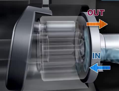 Watch and share Değişken Deplasmanlı Pistonlu Tip Hidrolik Pompa (Variable Displacement Piston Pump) GIFs on Gfycat