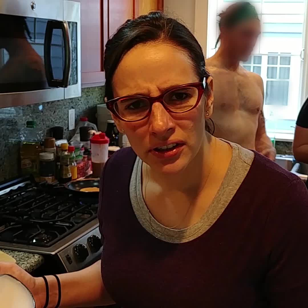 bowl, buffguy, buffguyinbackground, confused, confusion, funny, huh, noidea, soconfused, spatula, whaaat, whaat, what, what are these, what do you mean, whatarethese, whatisthis, whats going on, whatsgoingon, whatshappening, she's sooo confused!! GIFs