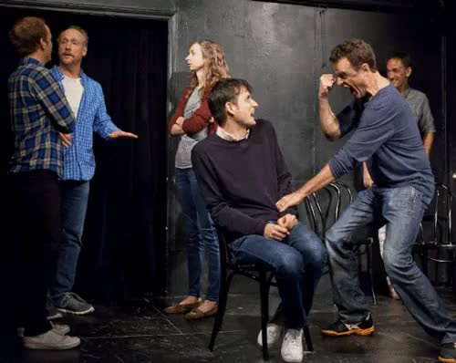 Watch this trending GIF on Gfycat. Discover more asssscat, lauren lapkus, matt besser, matt walsh, neil campbell, seth morris, ucb, ucb-la, ucbla, ucbtla, upright citizens brigade theatre los angeles, zach woods GIFs on Gfycat