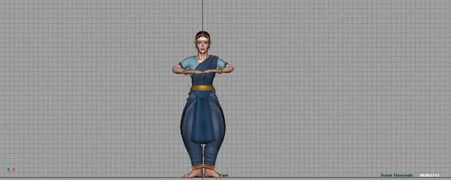 Watch Kathak Animation(3D)  W.I.P GIF on Gfycat. Discover more related GIFs on Gfycat