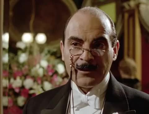 Watch and share Agatha Christie's Poirot S03E08 The Mystery Of The Spanish Chest GIFs on Gfycat