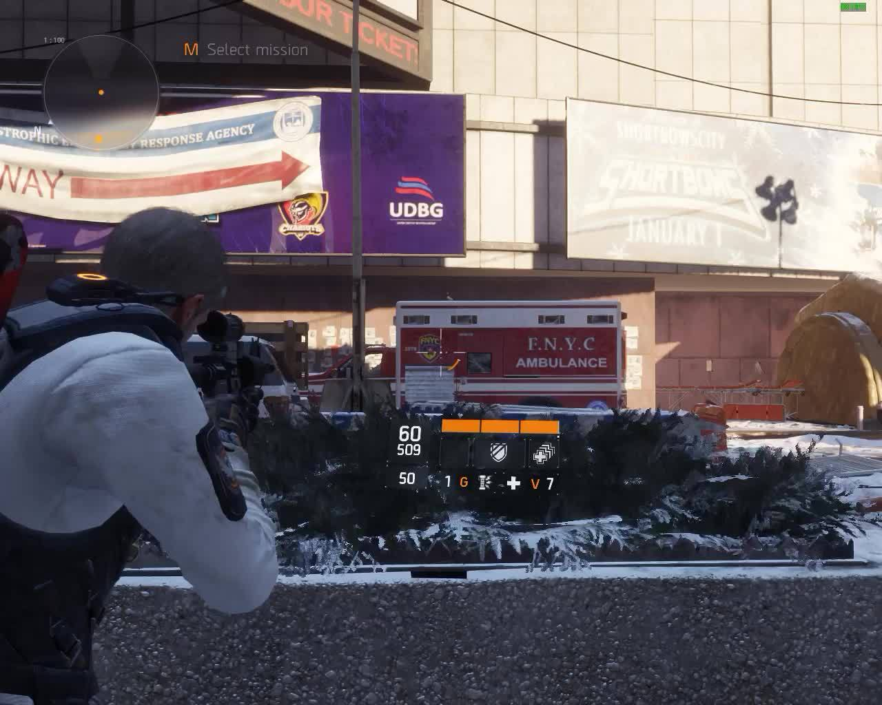 thedivision, Police M4 with attachment GIFs