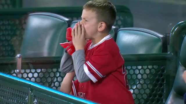 Watch and share Kid Gives Ryan Yarbrough A Piece Of His Mind After Mike Trout HBP. GIFs by handlit33 on Gfycat