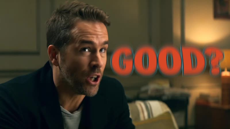 Good?, Hitman's Bodyguard, Ryan Reynolds, tonybaby, GoodSubjective GIFs