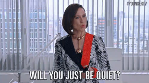 be quiet, hush, quiet, shhh, shush, shut up, silence, be quiet GIFs