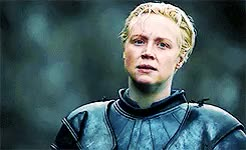 Watch and share Brienne Of Tarth GIFs and Game Of Thrones GIFs on Gfycat