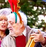 Watch  It's Wilfred's Christmas time  GIF on Gfycat. Discover more bernard cribbins, christmas, doctor who, dwedit, my gifs, reindeer artie queued this post, wilfred mott, xmas GIFs on Gfycat