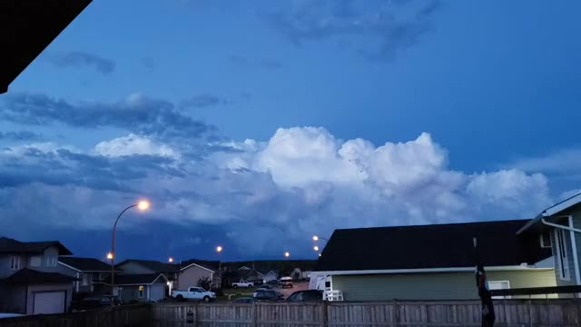 Watch and share The Way The Lightning Moves Across The Northern Albertan Sky Post Tornado Warning. GIFs by stigs_canuck_cousin on Gfycat
