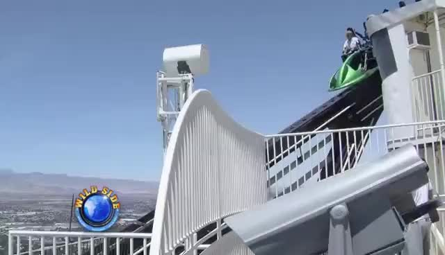 Stratosphere Tower Las Vegas Thrill Rides Hd Gif Find Make