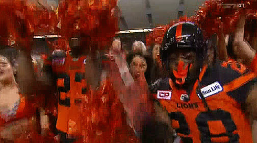 2016, Anthony Gaitor, Anthony Thompson, BC, BC Place Stadium, Blue Bombers, CFL, Football, Lions, Reaction, West Semi Final, Winnipeg, Cheerleaders (2016) GIFs
