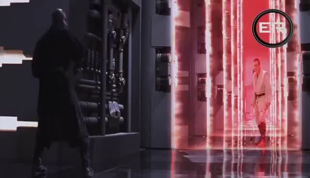 Watch and share Obi Wan & Qui Gon Ginn Vs Darth Maul HD 1080p GIFs on Gfycat