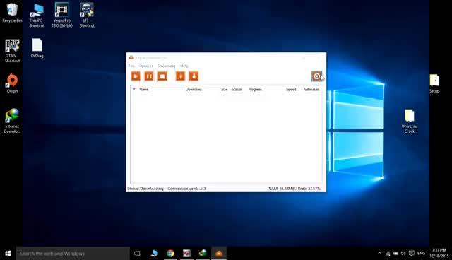 Download MEGA files directly through IDM(internet download manager