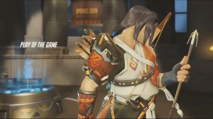 hanzo, overwatch, Gaming GIFs