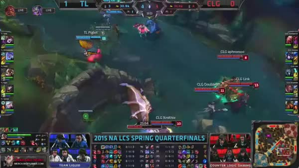 Watch and share TL Vs CLG PADC GIFs by cd-mangaka on Gfycat
