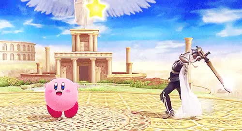 Watch ; Kirby simply does not care about your salt, GIF on Gfycat. Discover more captain falcon, ganondorf, ike, kirby, marth, ssb, ssb4, super smash bros, super smash bros 4 GIFs on Gfycat