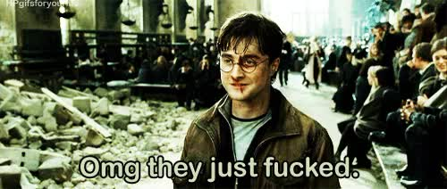 Watch and share Daniel Radcliffe GIFs and Harry Potter Gif GIFs on Gfycat