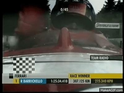 Formula, One, RubinoBarrichello GIFs