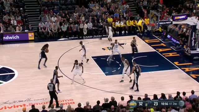 Watch Alec Burks steal and dunk - Denver Nuggets GIF by @5kl on Gfycat. Discover more related GIFs on Gfycat