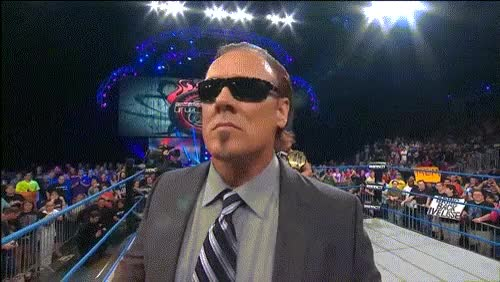 Watch and share Sting Tries To Look Coo Until His Tie Sandbags Him... (reddit) GIFs on Gfycat