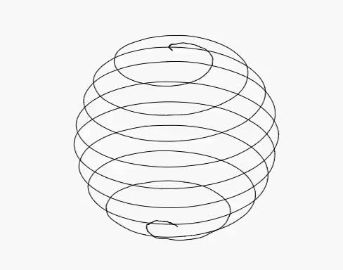 Watch source GIF on Gfycat. Discover more Archimedean, art, codepen, css, gif, javascript, js, loop, sphere, spiral GIFs on Gfycat