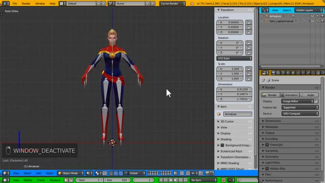 Watch and share Armature GIFs and Blender GIFs on Gfycat