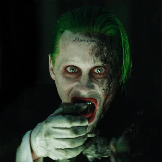 Watch and share Jared Leto GIFs and The Joker GIFs by Reactions on Gfycat