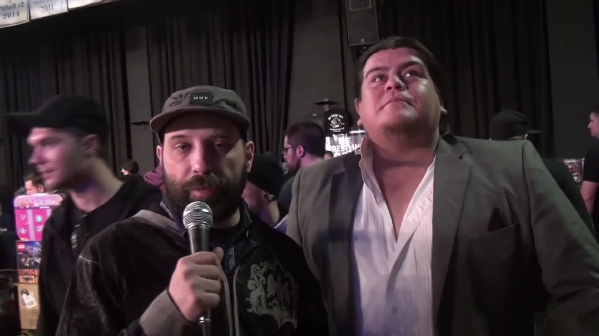 Alberto Del Rio, Film & Animation, Interview, Philadelphia, RAW, Ricardo Rodriguez, Royal Rumble, Super Bowl, WWE, paypereview wrestling, Looking around GIFs
