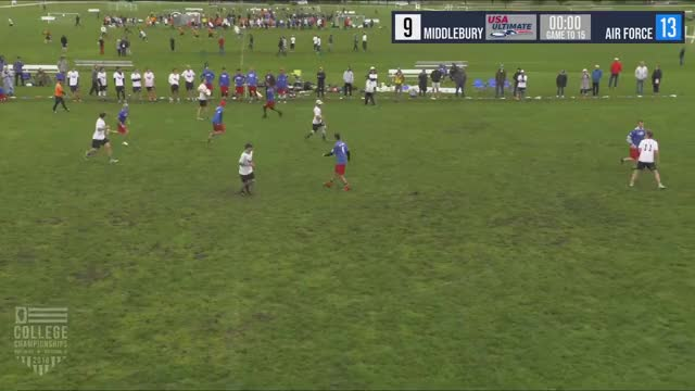 Watch 2018 D-III College Championships Men's Semifinal: Air Force vs Middlebury GIF on Gfycat. Discover more Sports, USA Ultimate, USA Ultimate (Sports Association), Ultimate (sport), disc, frisbee, sport, usau GIFs on Gfycat