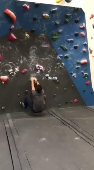 bouldering, Interesting Dyno GIFs