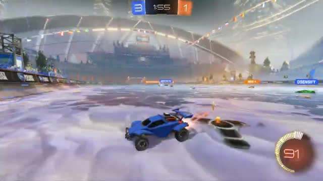 Watch and share Rocket League 2018 12 26 11 39 25 68 DVR GIFs on Gfycat
