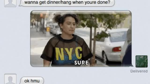 Watch Your texts need more animated GIFs.  Keys is here to help (hands-on) GIF on Gfycat. Discover more ilana glazer GIFs on Gfycat