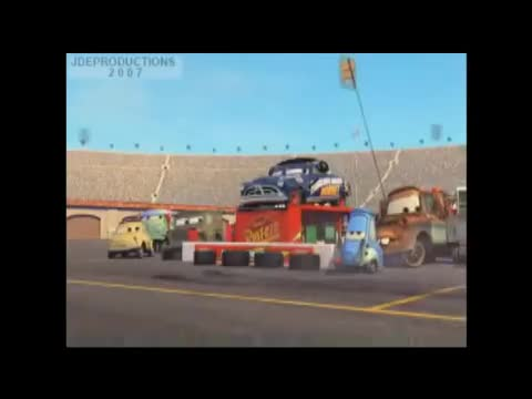 Watch this trending GIF by The Livery of GIFs (@thegifery) on Gfycat. Discover more 2006, Bob, Darrell, Disney, Hornet, McQueen, cars, ever, fastest, hudson, lightning, mater, pit, pixar, scenes, seen, strip, team, that, was GIFs on Gfycat