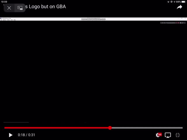 Watch and share THX Wings Logo But On GBA GIFs by YouTube Badour on Gfycat