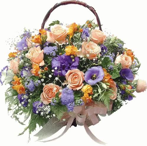 Watch and share Bouquet Basket GIFs on Gfycat