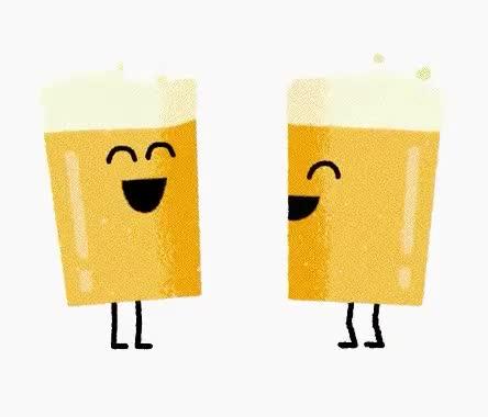 beer, cheers, friends, happy, hilarious, joke, laugh, lol, LOL beers GIFs