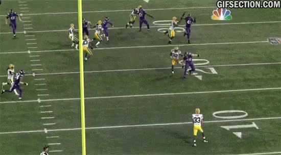 Watch and share Green Bay Minnesota Micah Hyde Football Punt Return Gifs GIFs on Gfycat