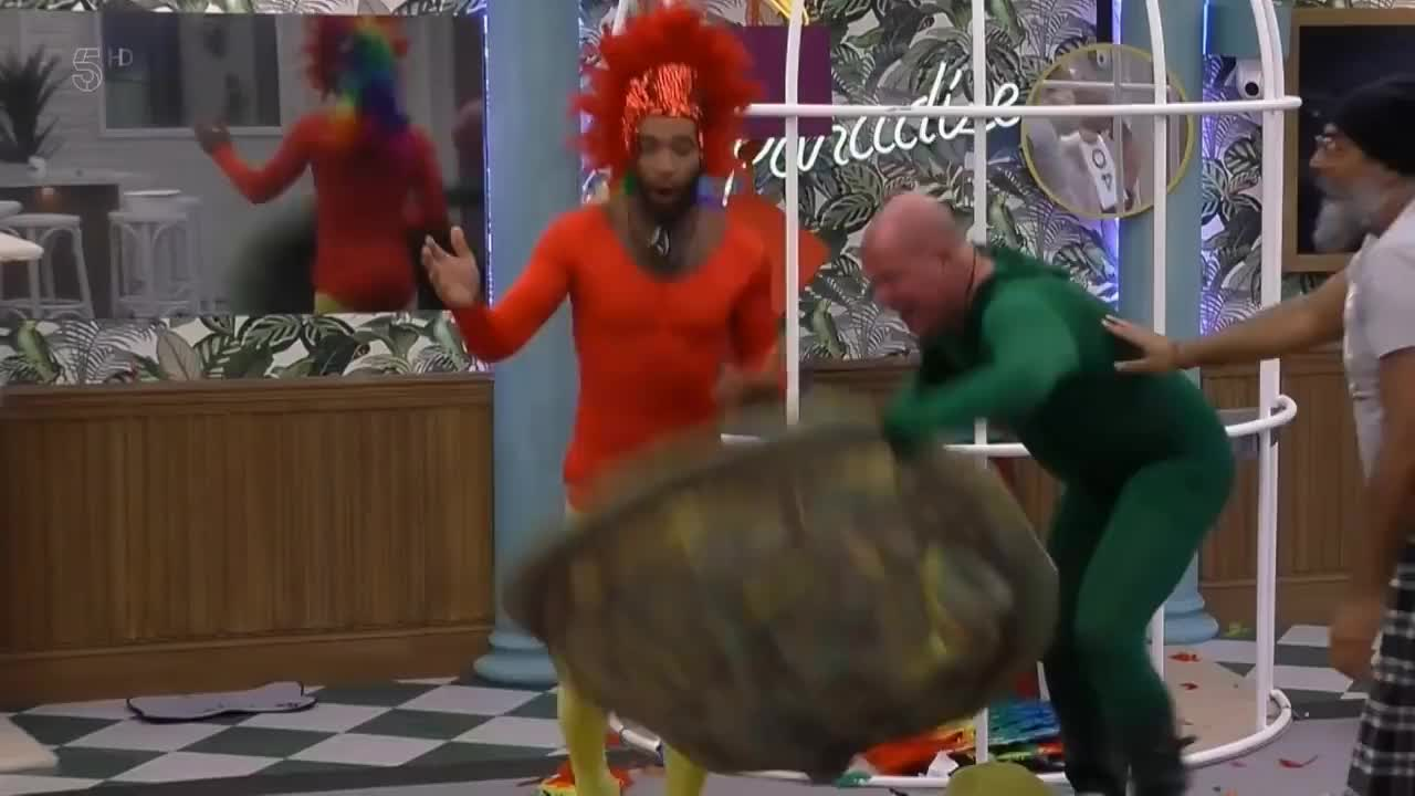 CBB, Celebrity Big Brother S22E19 Live Eviction Part 1 HD GIFs