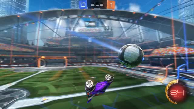 Watch Goal 2: Akai GIF by Gif Your Game (@gifyourgame) on Gfycat. Discover more Akai, Gif Your Game, GifYourGame, Goal, Rocket League, RocketLeague GIFs on Gfycat