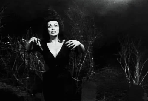 1959, Maila Nurmi, black and white, crazy, plan 9 from outer space, vampira, Vampira GIFs