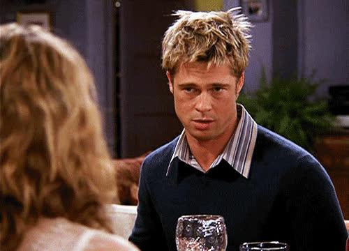 Brad Pitt, cranky, irritated, snarky, Snarky GIFs